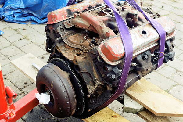 Removing Torque Converter And Flywheel